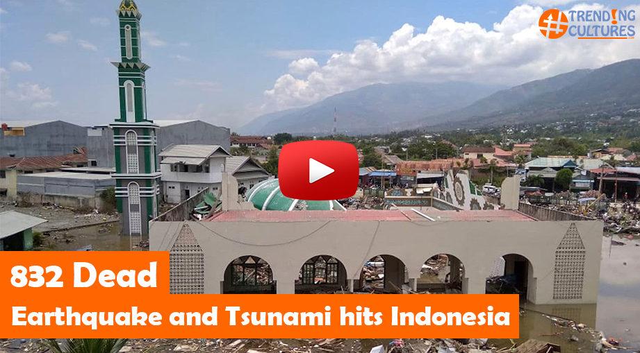 Indonesia Earthquake Tsuname 2018