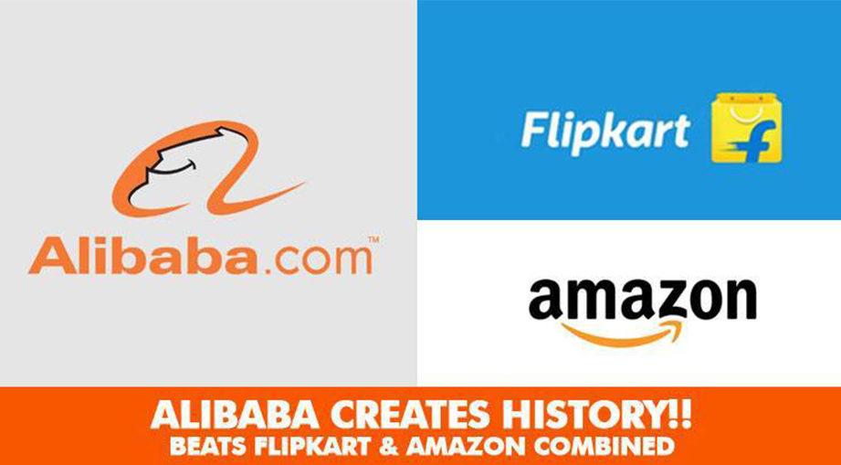Alibaba flipkart amazon