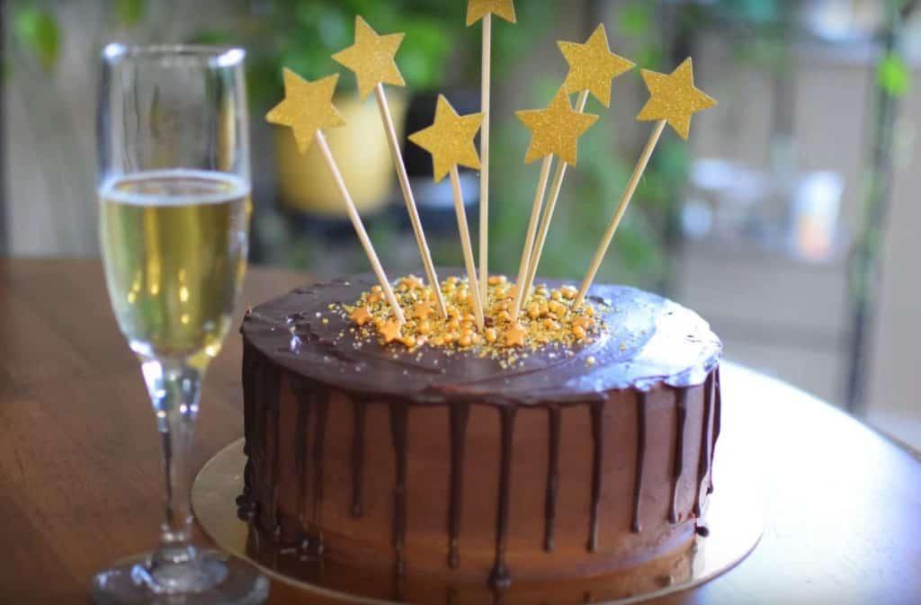 Drunken Chocolate Truffle Cake