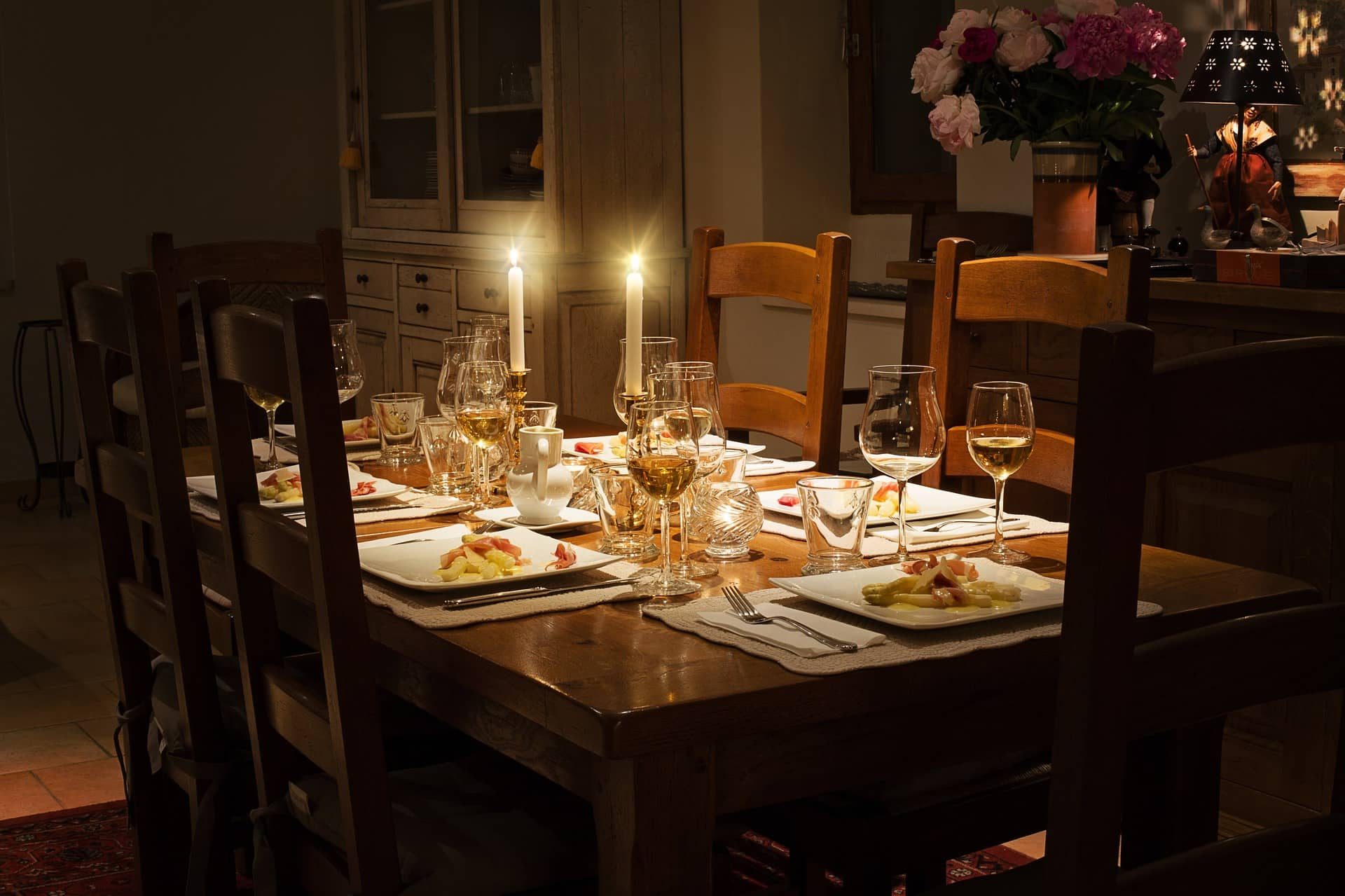 Friday Night Dinner at home