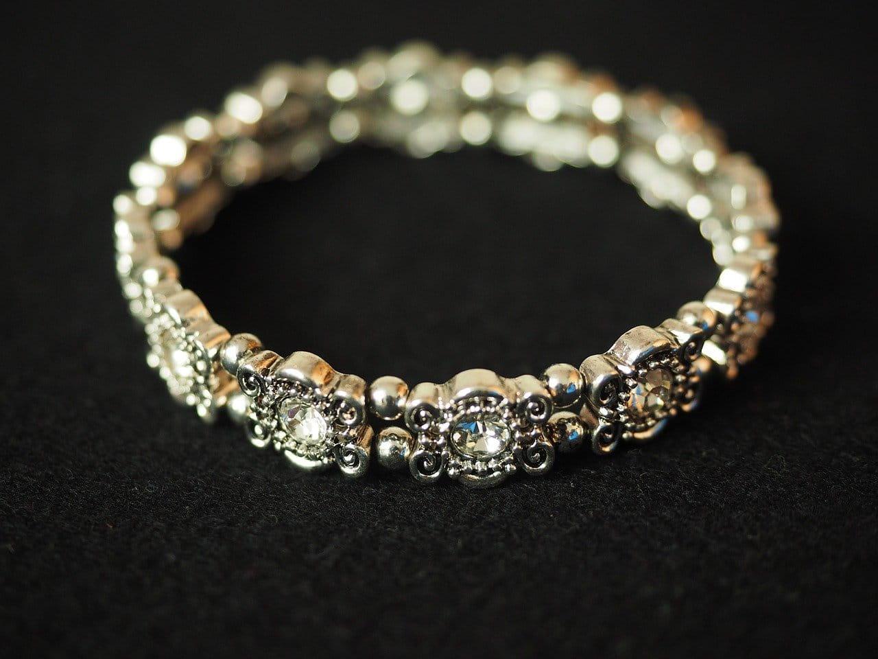 A diamond bangle bracelet for her wedding gift